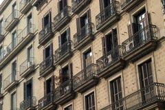 balkonger royaltyfri bild