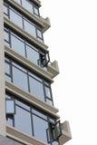 balkongfönster Royaltyfria Bilder