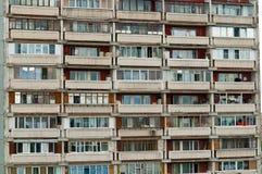 balkonghusutkant Arkivbilder