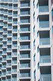 balkongmodell Arkivfoton