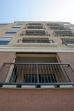 balkongsikt Arkivbild