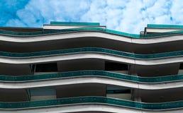 balkongvåg arkivfoto