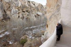 balkonowa skalista dolina Obraz Royalty Free