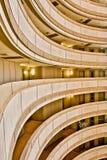 balkonowi hotelowi rzędy Fotografia Royalty Free