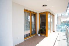 balkonowi nowoczesne mieszkania Obrazy Royalty Free