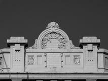 Balkonowy artystyczny szczegół zdjęcia royalty free