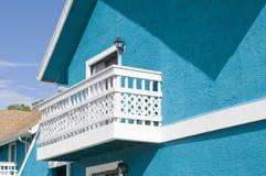 balkonowy biel Zdjęcia Royalty Free