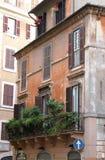 balkonowy Campo De Fiori Rome Zdjęcia Stock