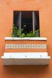 Balkonowy drzwi Zdjęcie Stock