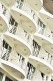 balkonowy hotel Zdjęcia Stock