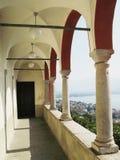 balkonowy kościół Obrazy Royalty Free