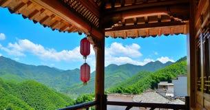 Balkonowy krajobraz Zdjęcie Royalty Free