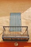 balkonowy okno zdjęcie stock