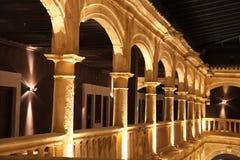 balkonowy przyklasztorny stary Zdjęcia Stock