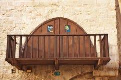 balkonowy śródziemnomorski styl zdjęcie royalty free