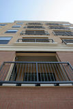 balkonowy widok fotografia stock