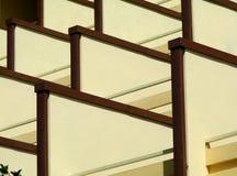 Balkons Stock Afbeelding