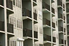 Balkons met een mening Royalty-vrije Stock Fotografie