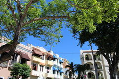 Balkons in Puerto Rico Royalty-vrije Stock Afbeeldingen