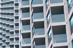 balkonu wzór fotografia stock