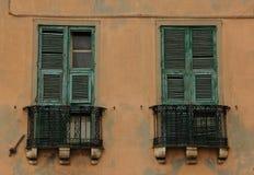 balkony fotografia stock
