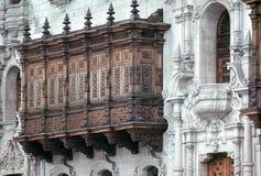 balkony drewna Fotografia Stock