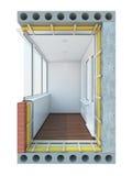 Balkony Stock Image