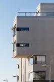 Balkony van mooie moderne flats in Zweden Royalty-vrije Stock Foto's