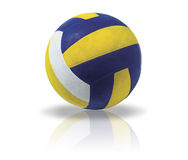 Ball. Illustration of a ball for volleyball on a white background Royalty Free Stock Photos