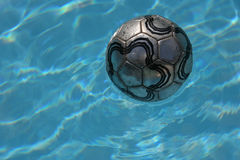 Ball. In the pool Royalty Free Stock Photo