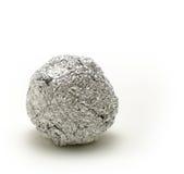 Ball. Aluminium stock image