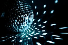 Ball. Party ball light reflection backgrounds Stock Photography