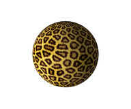 Ball. The abstract image ball of fur of an animal Royalty Free Stock Images