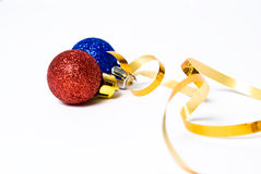 Ball. Christmas balls on the background Royalty Free Stock Photos