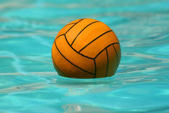 Ball. In pool royalty free stock image