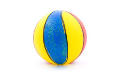 Ball. Colorful toy ball isolated on white background stock image