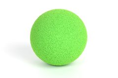 Ball. Close up shot of a green ball royalty free stock image