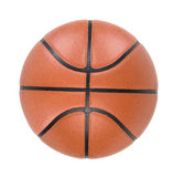 Ball. Basketball ball isolated on white. Clipping path Stock Photography