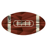 Ball american football icon abstract. Vector illusration eps 10 Royalty Free Stock Images