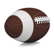 Ball for American football. Isolated render on a white background Royalty Free Stock Photos