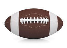 Ball for American football. Isolated render on a white background Royalty Free Stock Image