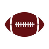 Ball american football oval icon. Illustration eps 10 Stock Photo