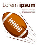 Ball american football oval icon  illustration. Web site page and mobile app design  element. Ball american football oval icon  illustration. Web site page and Stock Image