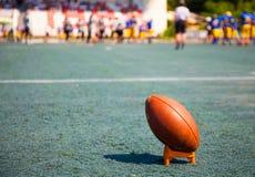 Ball for american football Stock Photos