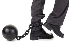 Free Ball And Chain Stock Photos - 27011533