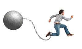 Free Ball And Chain Royalty Free Stock Image - 59084196