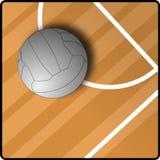 Ball auf Spielplatz Lizenzfreies Stockfoto