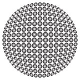 Ball background Royalty Free Stock Photography