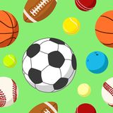 Ball background 2 Stock Images