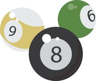 8Ball Base Stock Photography